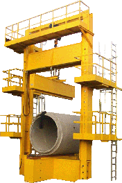 Testing Machine for Concrete Pipes Picture